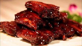 Свиные рёбрышки по Китайски, в кисло-сладком соусе