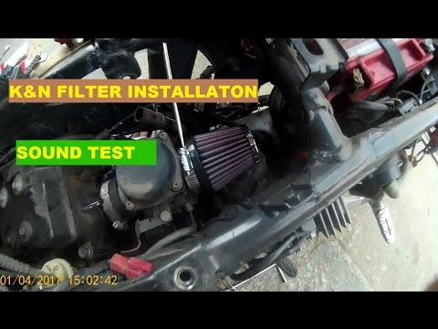 DIY : HOW TO INSTALL K&N FILTER ON PULSAR 200NS | BANGALORE