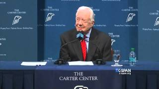 CLIPS: President Jimmy Carter on Cancer Diagnosis
