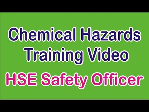 Chemical Hazards Training for Safety Officer in Hindi