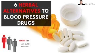 💖 6 Clinically Proven Herbal Alternatives To Blood Pressure Drugs - by Dr Sam Robbins