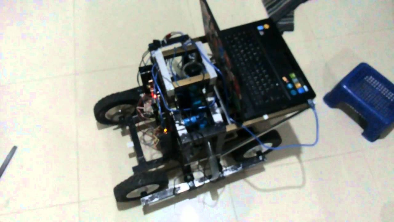 Johnny-five(Nodejs) mobile robot with PID controller and compass sensor 1