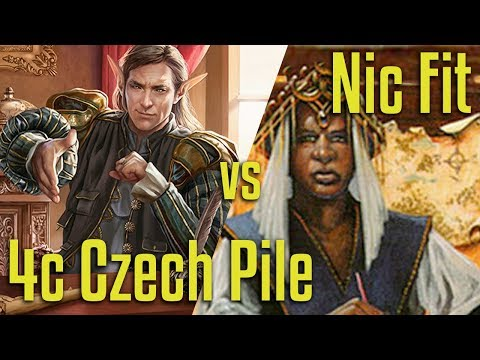 Brainstorm MTG | Legacy Magic: the Gathering | 4C Czech vs Nic Fit