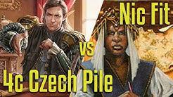 Brainstorm MTG | Legacy Magic: the Gathering | 4C Czech vs Nic Fit