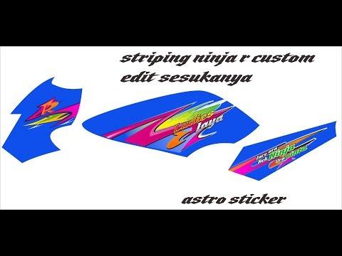 61+ Gambar Cutting Sticker Ninja Ss HD Terbaik