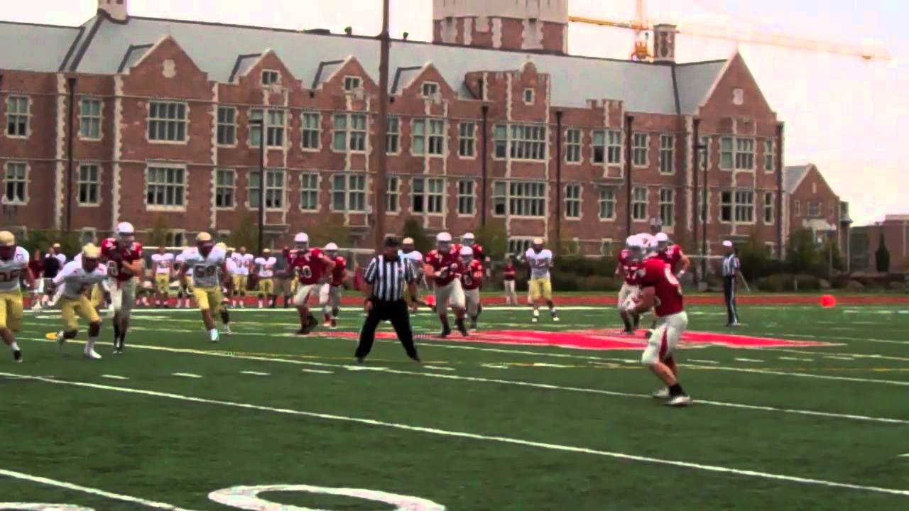 Football vs. Coe College - YouTube