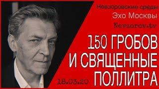 видео: Невзоров в программе Невзоровские среды на Эхо Москвы 18.03.20