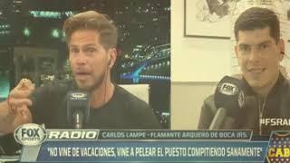 Carlos Lampe habló en FOX RADIO (Completo)