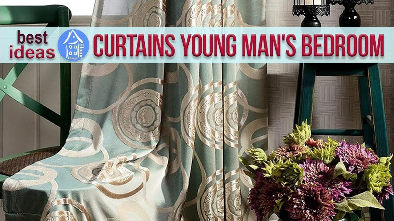 enchanting young man bedroom ideas | Simple Curtain Design for Young Man's Bedroom - Best Ideas ...