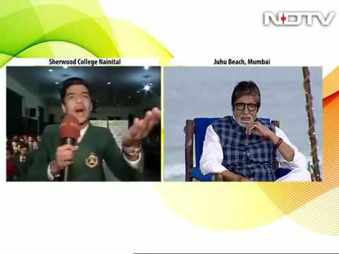 Poem on Swach bharat- Young lad inspires Amitabh Bacchan
