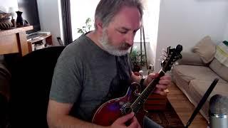 Jim Donoghue's (reel) on mandolin