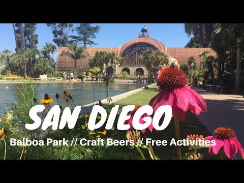 BEST OF SAN DIEGO - BALBOA PARK, SURF, CRAFT BEER - Vlog