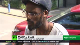 Grenfell survivor: Families offered 'poor' accommodation by RBKC Council