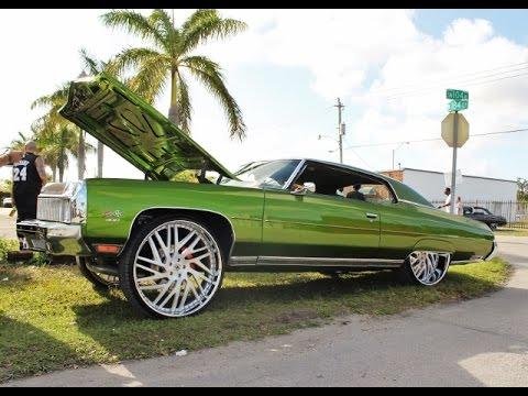WhipAddict: Kandy Green 73' Donk squattin Amani Forged Karma 28s, Turbocharged V8