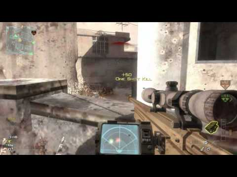 mw3 - 6 beautiful quick scopes in a row !!!
