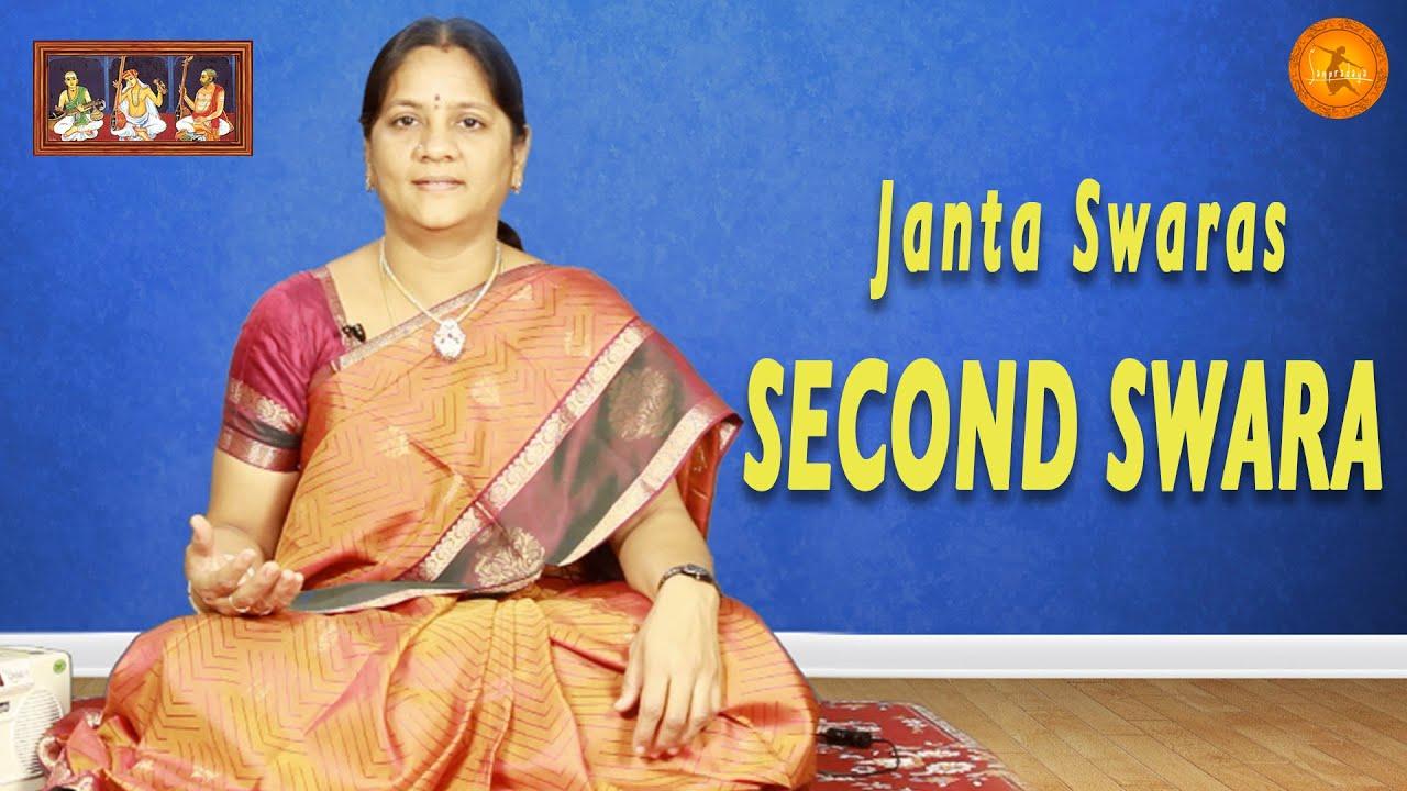 Janta Swaras - Second Swara || Learn Carnatic Classical Music from Smt   Balarka J || Sampradaya