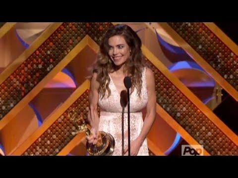 2015 Daytime Emmys  Amelia Heinle