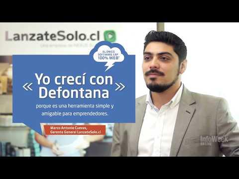 Defontana / Testimonial de LanzateSolo