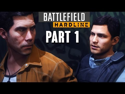 Battlefield Hardline Walkthrough Part 1 - Prologue & Episode 1 (Single Player Gameplay)