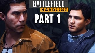 Battlefield Hardline Walkthrough Part 1 - Prologue & Episode 1 (Single Player Gameplay)