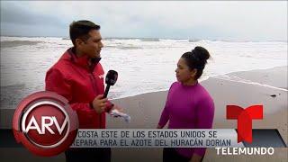 Huracán Dorian: EEUU ordena evacuación de miles de personas | Al Rojo Vivo | Telemundo