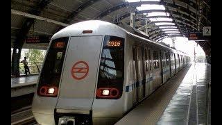 Delhi city view rajibchok  to vaishali by Metro