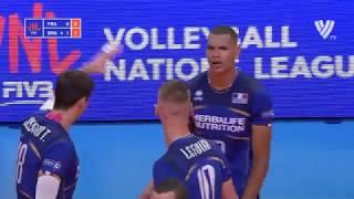 Stephen Boyer | Insane 3 Meter Spike | Volleyball National League 2018