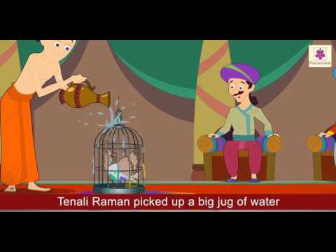 The Tell Tale Nails | Tanali Raman Story | English Stories For Kids | Bedtime Stories