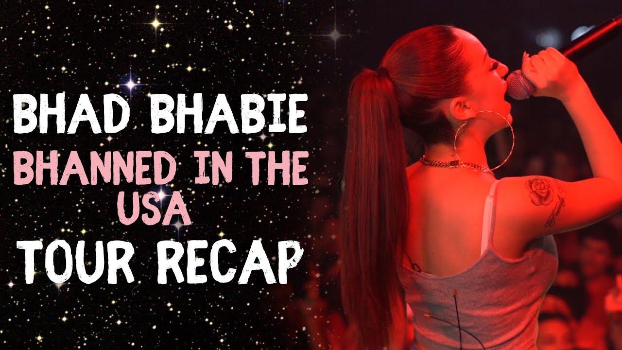 BHAD BHABIE 1st Tour - Lil Yachty in Atlanta & Tour Stories | Danielle Bregoli