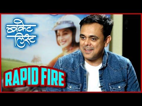 Bucket List | Sumeet Raghavan As Mohan | Rapid Fire | Marathi Movie 2018