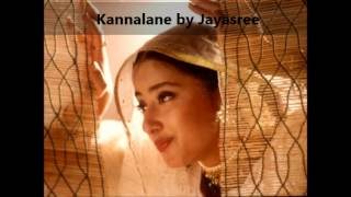 Kannalane song from the Tamil movie Bombay sung by Jayasree