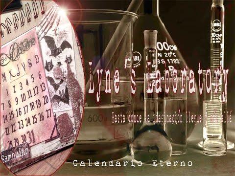 Calendario perpetuo scrapbooking