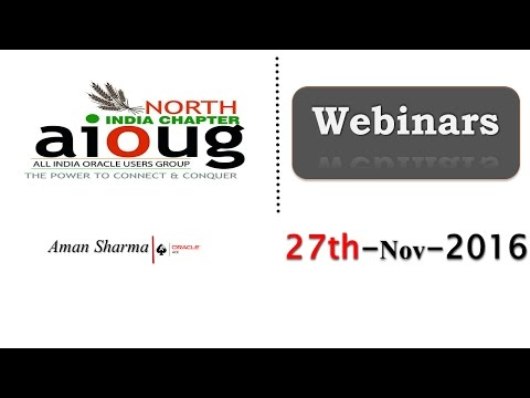 How Select Statement Works Internally(Aman Sharma) - An AIOUG North India Chapter Webinar