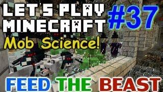 Let's Play Minecraft Hermitcraft FTB Ep. 37 - Mob Trap Science