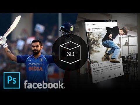 Make Facebook 3D Photos in Photoshop | Photoshop Tutorial thumbnail