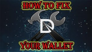 How To Fix Your Dixicoin Wallet