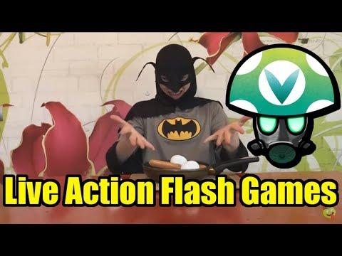 Live Action Flash Games - Rev [Vinesauce]