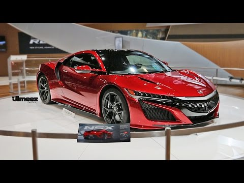 NEW NSX! 2015 ACURA NSX AT CHICAGO AUTO SHOW