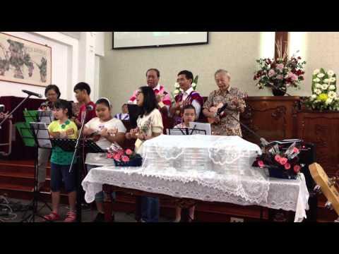 Kim Tian Church- KBCS Ukelele band