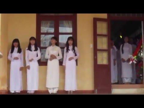Thi Học Sinh Thanh Lịch tại trường THPT Lệ Thuỷ - 2016