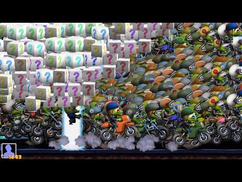 Zombie Tsunami Gameplay #4 The Rider Bikers Zombies