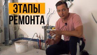 Этапы ремонта в ЖК Ожогино. Ремонт квартиры в Тюмени.