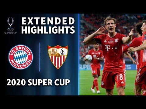 FC Bayern Munich vs Sevilla | 2020 Super Cup Extended Highlights | UCL on CBS
