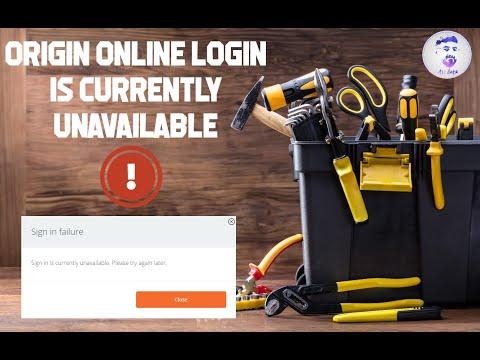 Fix Error: 5 Fixes Origin Online Login Is Currently Unavailable Windows 100% (2020)