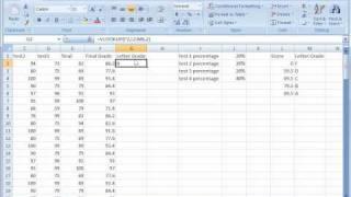 Excel 2007 Tutorial 15: Vlookup