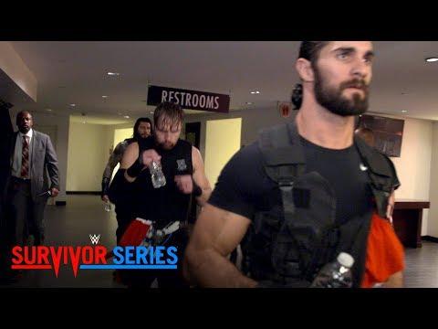 Go behind the curtain as The Shield enter the Toyota Center for Survivor Series: Nov. 19, 2017