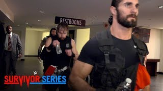 Go behind the curtain as The Shield enter the Toyota Center for Survivor Series: Nov. 19, 2017