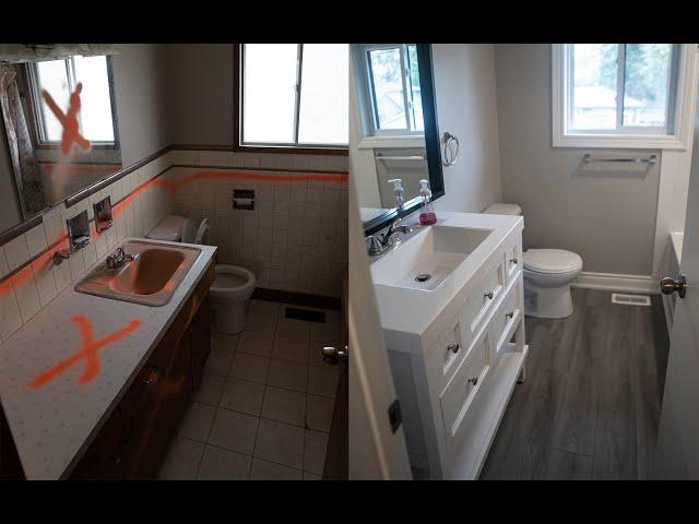 Brantford Duplex Conversion Part 1 - Split level Unit