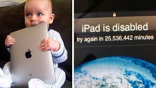 Toddler Tries So Hard To Unlock Dad's iPad That It Ends Up Locked For Over 47 Years