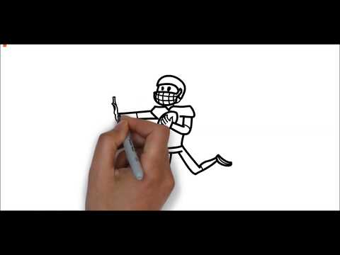 How to draw people playing sports | ItsForKids